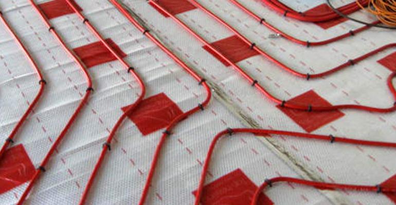 Podlahové topení - Montáž a instalace